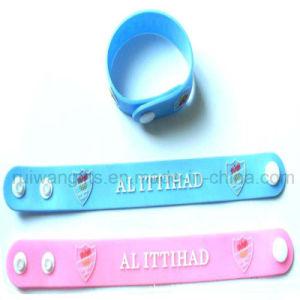Custom Soft PVC Rubber Bracelet (BR029) pictures & photos