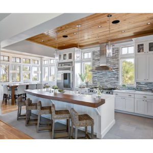 European Style Oak Solid Wood Kitchen Design pictures & photos