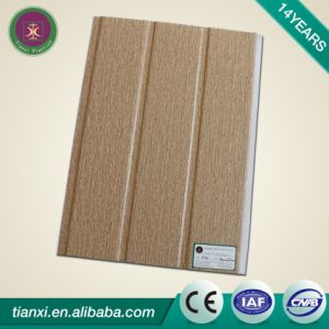 Two Grooves Laminated PVC Ceiling Boards pictures & photos