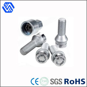 High Tensile Carbon Steel Hot DIP Galvanized Security Bolt and Nut pictures & photos