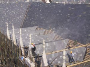 100% Nature Roofing Slate Tiles for Roofing pictures & photos