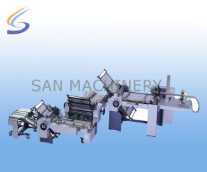 China Automatic Buckle Paper Folding Machine Low Price pictures & photos