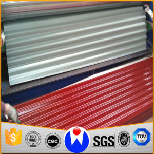 Corrugated Sheet Prepainted Color Coated Galvanized Steel Plate pictures & photos