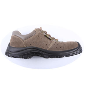 Men Suede Leather Protective Shoes