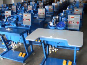 Semi-Auto Rhinestone Hot Fix Machine Low Price Apparel Machinery pictures & photos