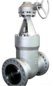 ANSI Pressure Seal Motorized Gate Valve