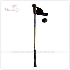 3-Section Walking Stick with Adjustable Wrist Strap pictures & photos