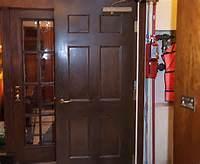 Delicate Handcraft Wooden Fire Door with Bm Trada pictures & photos