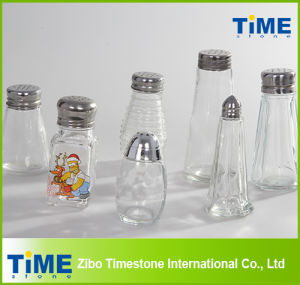 Wholesale Square Shape Glass Spice Bottle pictures & photos