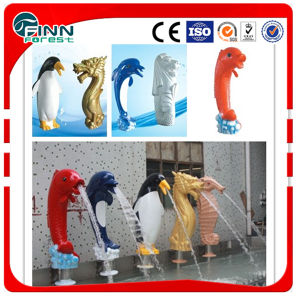Animal Colorful Decorative Waterfall for Water Park pictures & photos