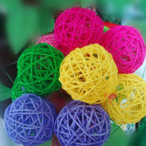 Accept Small Order Weaving Rattan Ball pictures & photos