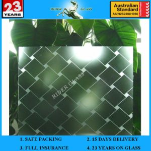 3-6mm Am-25 Decorative Acid Etched Frosted Art Architectural Glass pictures & photos