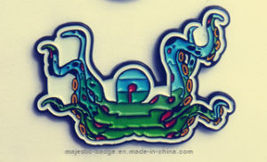 Zinc Die Cast Process & Soft Enamel Lapel Pin pictures & photos