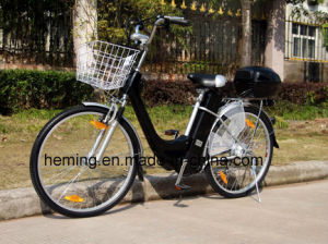 "26"" City Electric Bike with Shimano 6 Speed pictures & photos"