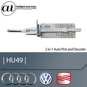 HU49 2 in 1 Auto Lock Pick and Decoder for Vw, Audi