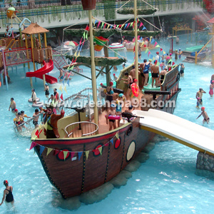 Kid′s Boat Slide for Water Park Equipment pictures & photos