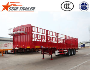 3 Axles Fender Cargo Trailer pictures & photos