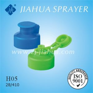 Plastic Shampoo Flip-Top Cap for Bottle (H05) pictures & photos