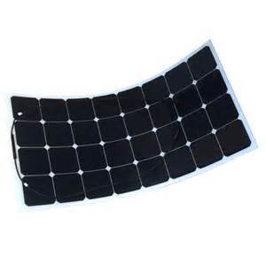 Thin Film Sunpower Mono Cells Flexible Solar Panel 100watt pictures & photos