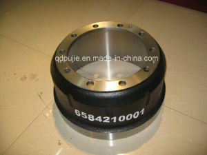 for Benz Truck Brake Drum OEM 6584210001 pictures & photos