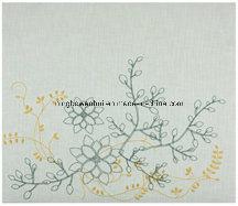 Customed Embroidery Linen Scrapbook Album pictures & photos