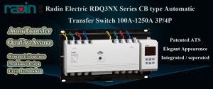 Automatic Changeover Switch with Split Mounting Controller pictures & photos
