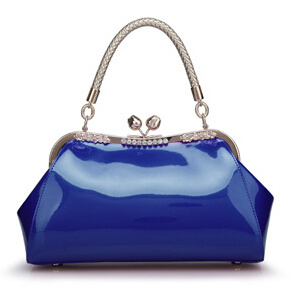Guangzhou Fashion Designer PU Patent Leather Shoulder Bag Supplier (qp423) pictures & photos