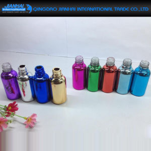High Quality Colorful Glass Bottle Essential Oil Container pictures & photos