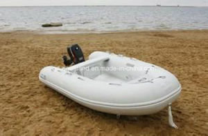 Aqualand 9feet 2.7m Rib Motor Boat/Rigid Inflatable Fishing Boat (rib270) pictures & photos