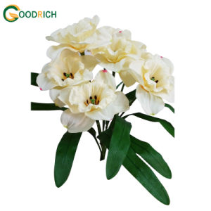 Daffodil Bush Artificial Flower pictures & photos