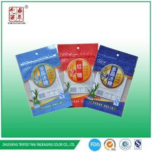 Professional Factory 400 G Super Plastic Zip Lock Sugar Bag, Sugar Packaging Bag