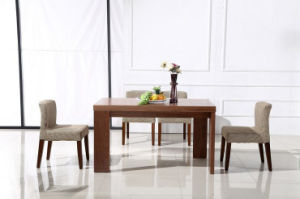 Wooden Dining Table with Dining Chairs Dining Sets (M-X1009) pictures & photos