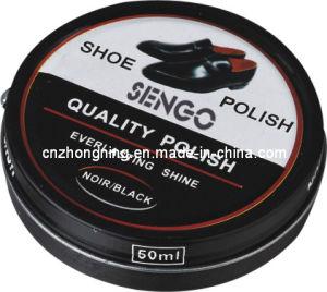 Latest Hot Sale Shoe Polish in Tin Case 50ml