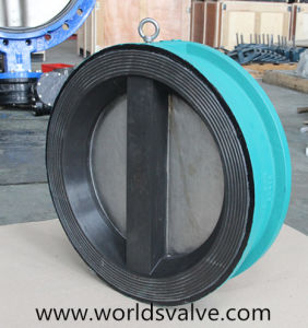 Rubber Coated Wafer Type Check Valve pictures & photos