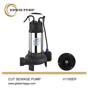 V1100df Cut Sewage Submersible Pump pictures & photos