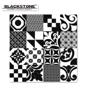 Building Material Black and White Series Glazed Floor Tile 600*600 pictures & photos