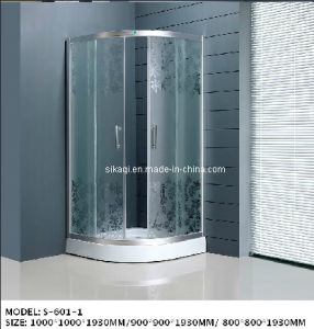 Patterned Shower Enclosure (S-601-1) pictures & photos