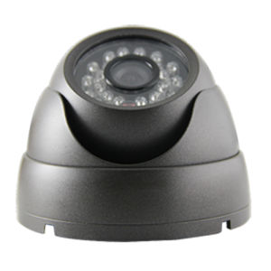1/4′′ CMOS Mt9V139 IR 20m Night Vision Metal Dome Camera