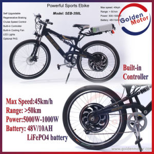 48V 1000W Powerful Sport Ebike with 50km/H Top Speed pictures & photos