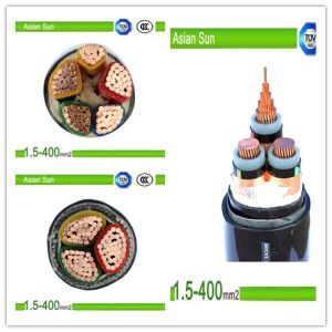 Copper/Aluminium Conductor XLPE Insulated PVC Sheathed Power Cable Manufacturer pictures & photos