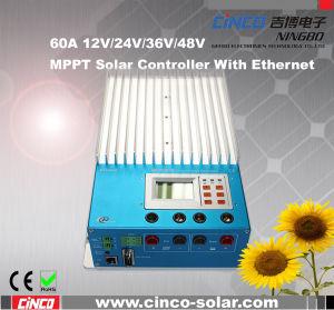 Solar Controller, Solar Charge Controller, 12V/24V/36V/48V 60A MPPT Solar Controller