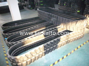 Hot Sale Excavator Rubber Track (300*52.5) pictures & photos