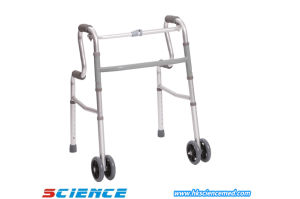 Deluxe, Folding Travel Walker (Detachable legs- knob style) pictures & photos