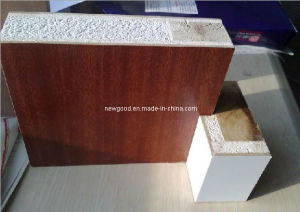 Melamine Laminated Fire Rated Wood Door (sapeli color) pictures & photos