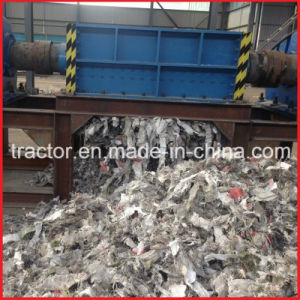 Double Shafts Woven Bags/Waste Cloth/ Plastic Crusher pictures & photos