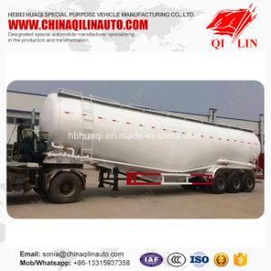Heavy Duty 80 Dwt Bulk Cement Road Tanker Trailer Specs pictures & photos