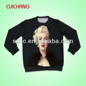 Wholesale Polyester Heat Transfer Printing Custom Design New Design Sweatshirt Wy-002 pictures & photos