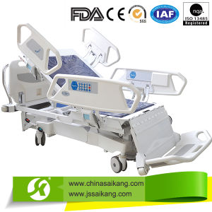 Sk005-1 Advanced Hospital ICU Electric Patient Bed Furniture Equipment pictures & photos