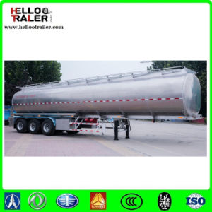 Tri Axle Tankers for Diesel Transport with Capacity of 40.000lts in Aluminium pictures & photos