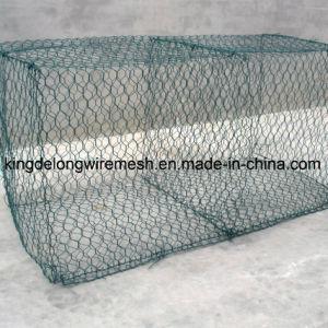 PVC Coated Hexagonal Mesh Gabions pictures & photos